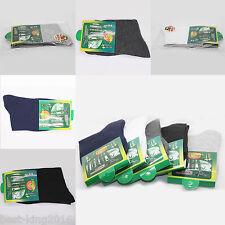 Chic 5Pairs Men Solid Bamboo Fiber Sock Anti Bacterial Breathable Everyday Socks