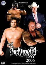WWE JUDGEMENT DAY 2006 WRESTLING DVD NEW SEALED