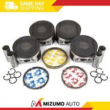 Pistons w/ Rings fit 02-05 Subaru Impreza WRX Saab Turbo 2.0L DOHC EJ20