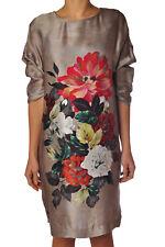 Twin Set - Dresses-Dress - woman - Beige - 738717C184237