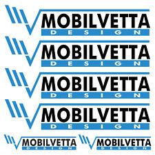 MOBILVETTA aufkleber sticker wohnmobil camper wohnwagen caravan 6 Stücke Pieces