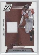 2005 Donruss Zenith Z-Jerseys #Z-5 Michael Vick Atlanta Falcons Football Card