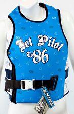 NEW $125 Womens Jet Pilot by Body Glove OG Comp Life Vest Water Ski Jacket Blue