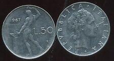 ITALIE   ITALY  50 lire 1967