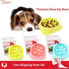 Premium Dog Slow Eating Bowl Food Feeder Feed Large Bloat Stop Pet Cat