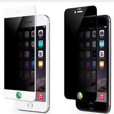 Protector de Privacidad Oscuro Pantalla de Cristal Vidrio Para iPhone 6 6 Plus