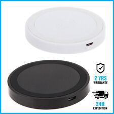 Qi Q5 Wireless Charger Charging Pad Plate Mat Dock Chargeur Recepteur Sans Fills