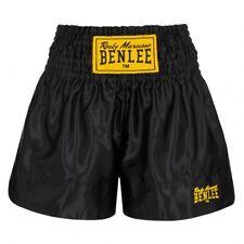 BENLEE Thai Pantaloncini tinta unita Rocky Marciano boxhose MMA Kickboxen MUAY