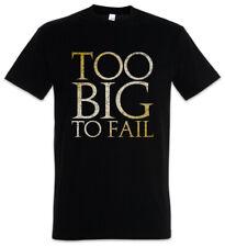 Too Big To Fail T-Shirt Dick Stolz Fett Diät Fun fat Chubby Pride heavy proud