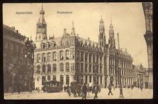 Holland AMSTERDAM Postkatoor early PPC Tram