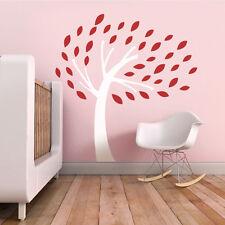 Tree Leaves Wall Decal Inspiration Baby Nursery Room Removable Art Vinyl Decor