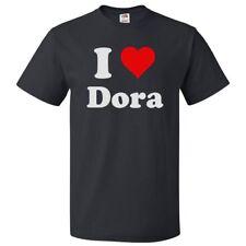 I Love Dora T shirt I Heart Dora Tee