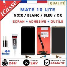 ECRAN LCD + VITRE TACTILE POUR HUAWEI MATE 10 LITE / NOIR BLANC BLEU OR + OUTILS