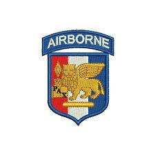 Southern European Task Force Airborne Unit SETAF Embroidered Shirt