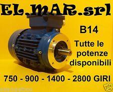 Motore Elettrico Trifase Flangiato B14 2800 1400 900 750 giri 2 4 6 8 poli 400 V