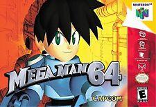 ***MEGA MAN 64 N64 NINTENDO 64 GAME COSMETIC WEAR~~~