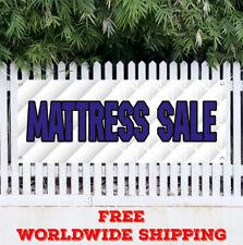 MATTRESS SALE Advertising Vinyl Banner Flag Sign Bed Beds Sleep Center Bedding