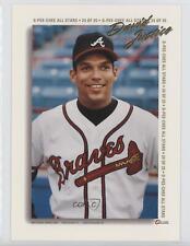 1994 O-Pee-Chee All-Stars Jumbo #24 David Justice Atlanta Braves Baseball Card
