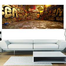 Stickers panoramique déco mural Tag Graffiti réf 3618 ( 13 dimensions )