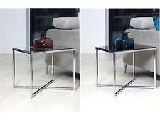 """Beistelltisch Wohnzimmertisch Tisch Sofatisch Couchtisch Glastisch """"Crispo II"""""""