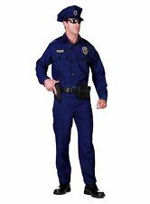 Amerikanischer Polizist Kostüm Polizeiuniform Karneval Fasching