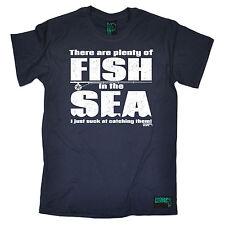 Hay un montón de peces para hombre ahogado gusanos Camiseta Camiseta Pesca De Regalo De Cumpleaños