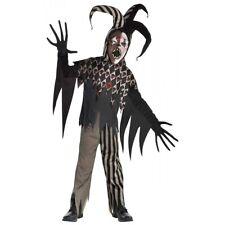 Twisted Jester Costume Halloween Fancy Dress