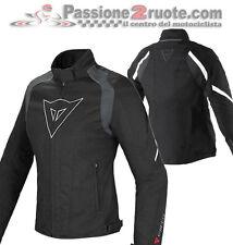 Giacca donna Dainese Laguna Seca D-Dry Lady Nero Bianco Moto Jacket