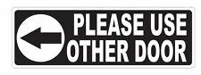 Please Use Other Door Sticker D3676
