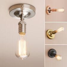 Pathson Retro Industrie Wandleuchter Lampenhalter Wandlampe Bar Flushmount-Licht