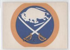 1972-73 O-Pee-Chee Logo Decals #BUF Buffalo Sabres Team Hockey Card