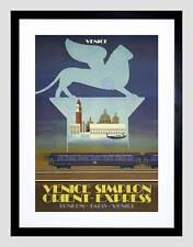 Viaje Simplon túnel Orient Express Venecia Londres París Reino Unido Art Print B12X1700