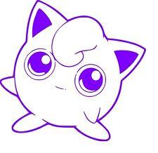 Pokemon Jigglypuff Anime  Window Car Decal, Sticker, Pokemon Go JDM Vinyl Decal