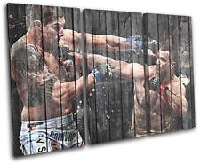 MMA UFC Mirko CroCop Filipovic  Sports TREBLE CANVAS WALL ART Picture Print