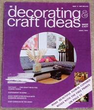 Decorating & Craft Ideas 1973 Macrame Eggs Paper Mache