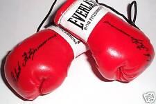 Autographed Mini Boxing Gloves Bob Fitzsimmons