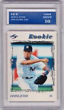 Derek Jeter GEM MINT 10 ROOKIE CARD Score RC Baseball NY YANKEES!