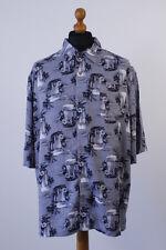 George Mens Big & Tall Short Sleeve Hawaiian Loose Fit Shirt  1XL-3XL