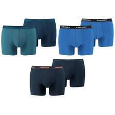 6 en Paquete Head calzón Básico Pant Azul Logo Nuevo Auténtico Ajuste S M L XL