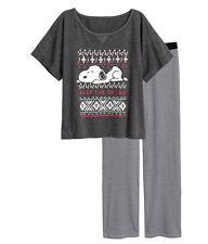 H&M Schlafshirt & Hose  / Schlafanzug Jersey Gr. XS, S,  M  *2 Farben**NEU!*