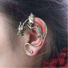 NUOVO 2012 DRAGON Wrap Padiglione Auricolare Gothic Rock HOT Orecchino argento o oro per 1 EAR