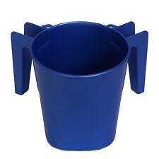 Ybm Home 5 inch  Plastic Square Netilat Yadiyim Wash Cup for hand washing ba154