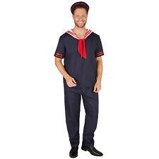 Matelot fancy dress costume carneval Party déguiser navire marine uniforme voile