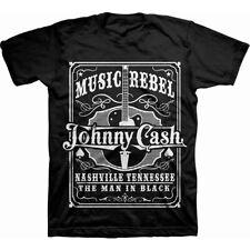 Johnny Cash Music Rebel Official Tee T-Shirt Mens Unisex