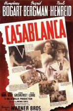 Casablanca 8x10 11x17 16x20 24x36 27x40 Movie Poster Humphrey Bogart Vintage A