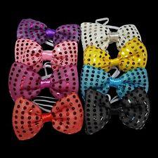 LED Intermitente Sequin Bow Tie-Vestido de fantasía, cabaret, festivales, conciertos, fiestas