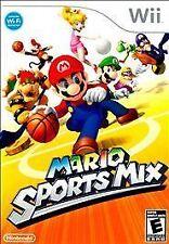 Mario Sports Mix, Excellent Nintendo Wii, Nintendo Wii Video Games