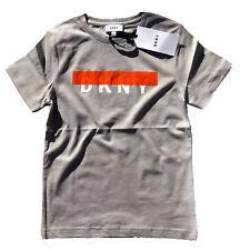 DKNY Kids T-Shirt Logoprint grau 122 128 134 140 146 152 158 164 172