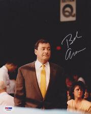 Bob Arum SIGNED 8x10 Photo Boxing Promoter *RARE* PSA/DNA AUTOGRAPHED