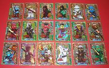 Auswahl Lego Ninjago Trading Card Game Serie 2 Limitierte Karten Goldkarten LE